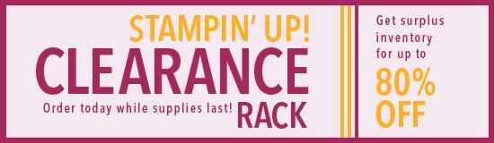 Clearance rack