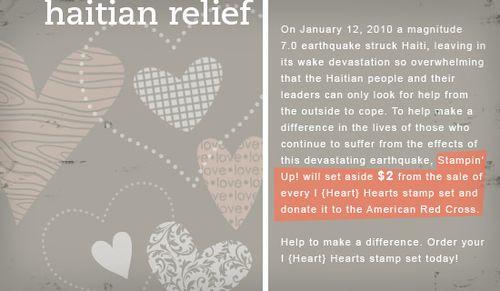 Haitian relief