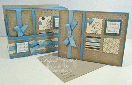 Pretty Postage Stationery Box
