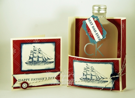 Fathers Day Cologne Box & Card