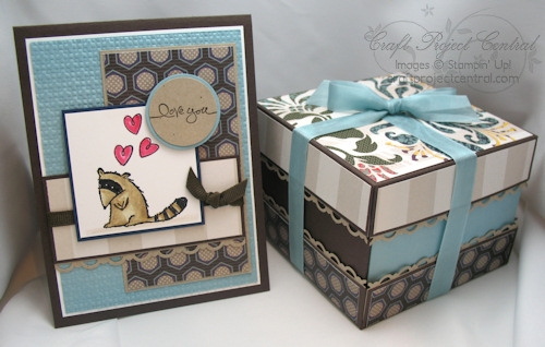 Four Section Treat Box & Card