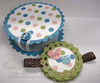 Baby Card & Gift Box