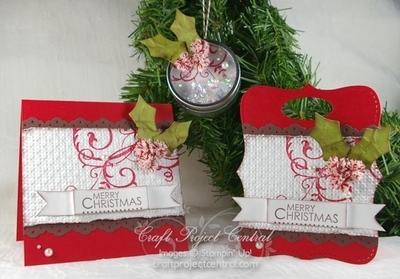 Baroque Motifs Christmas Gift Set