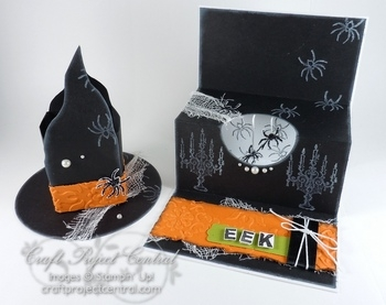 Witch Hat & Pop Up Card