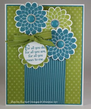 Flowers in box cards