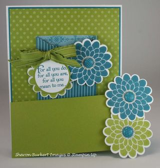 Flowers out box cards