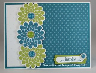 3 flowers cards box card