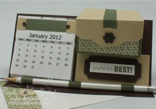 Calendar Desk Mate