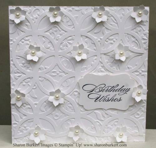 White on white lattice vintage wallpaper