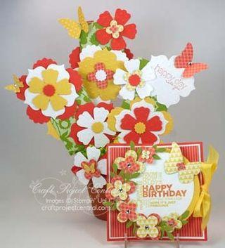 Gift Card Bouquet & Card