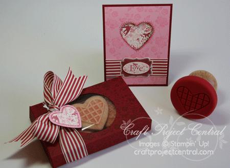 Sweet Pressed Cookie Box & Card