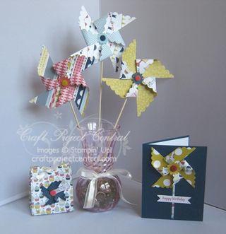Patio Party Pinwheels