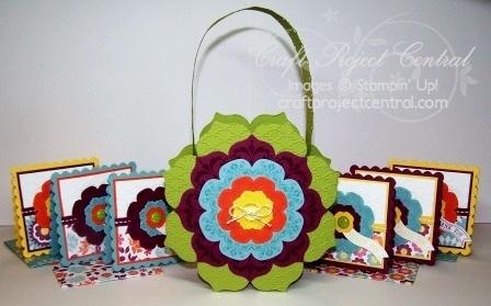 Flower Basket & Card Set