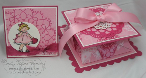 Origami Valentine Box & Card
