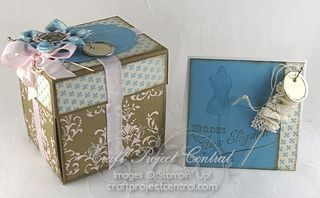 Exploding Sewing Kit & Card