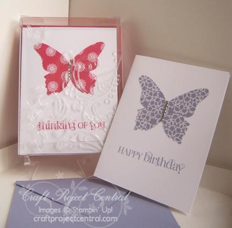 Acrylic Box & Fabric Cards