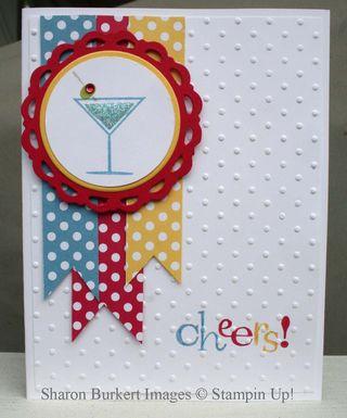 Happy Hour Blue Martini