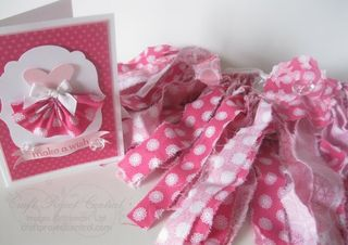 Rag Tutu & Birthday Card