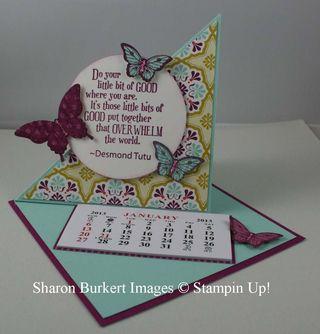 Calendar card rich ropen