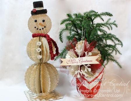 Snowman & Ornament