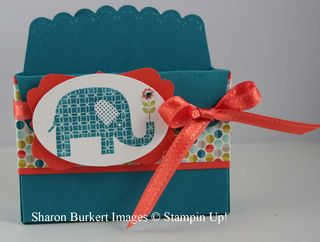 Patterned Occasions box
