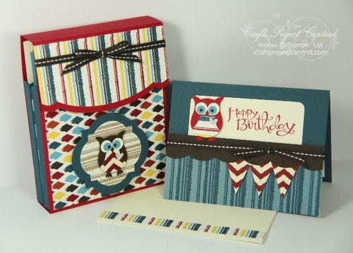 Owl Box & Card Set