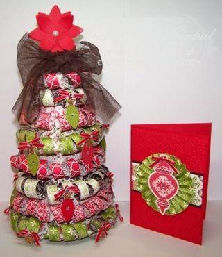 Candlelight Christmas Tree & Card