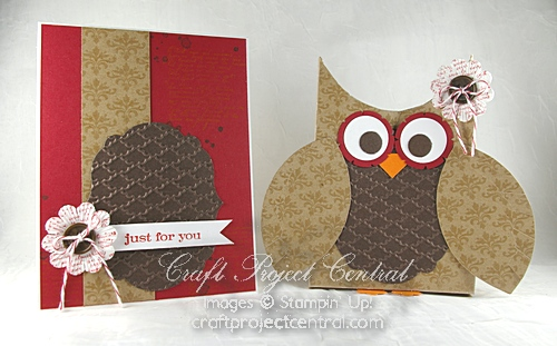 Owl Box & Greeting Card