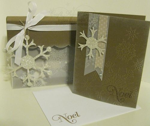 Snowflake Cards & Box