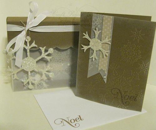 Snowflake Cards & Box