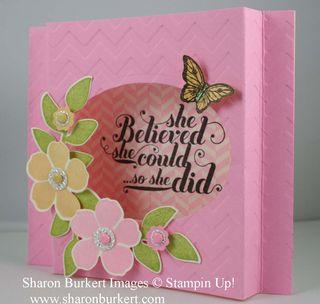 Secret Garden shadow box side