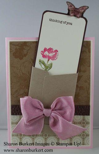 Envelope cardout