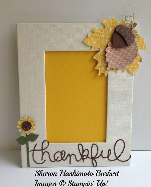 Thankful frame