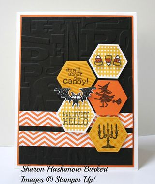 Halloween Hello Six Sided Sampler