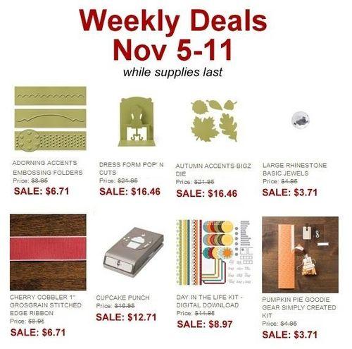 Weekly deals nov5-11