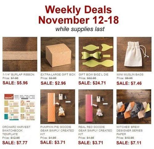 Weekly deal nov 12-18