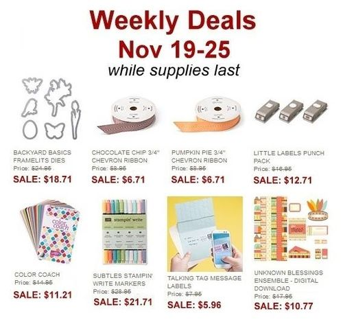 Weekly deal 19-25