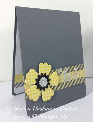 Washi flower side