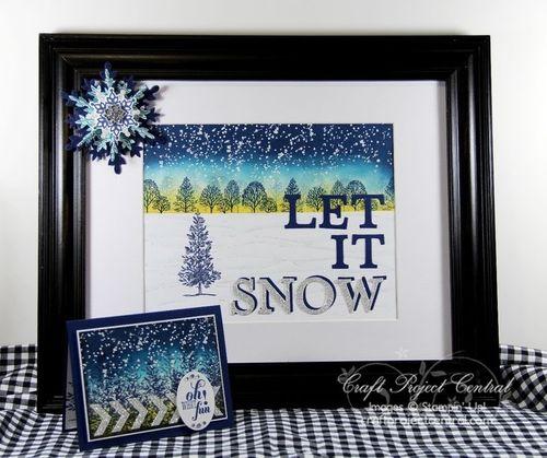Let It Snow Decor