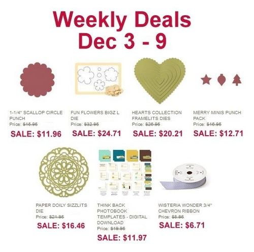 Weekly deal dec 3-dec 9