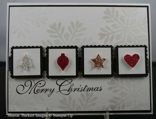 Merry Minis glitter card1