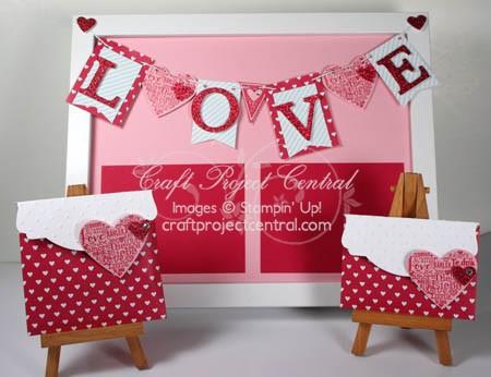 Love Banner Frame, Love Notes & Bonus