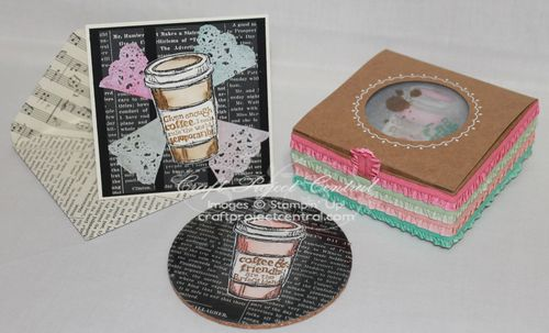Cork Coaster Gift Set