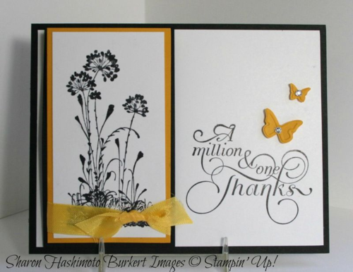 Serene Silhouettes one flap easel