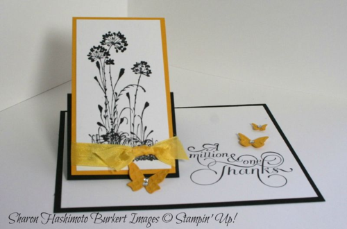Serene Silhouettes one flap easel up