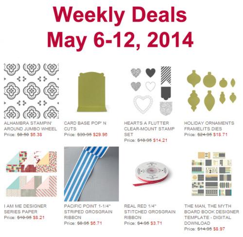 Weekly Deal May 6-12