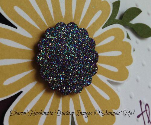 Blackberry Bliss&Hello Honey Glitter Accent