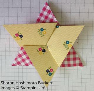 FFF Folded Star folding 3
