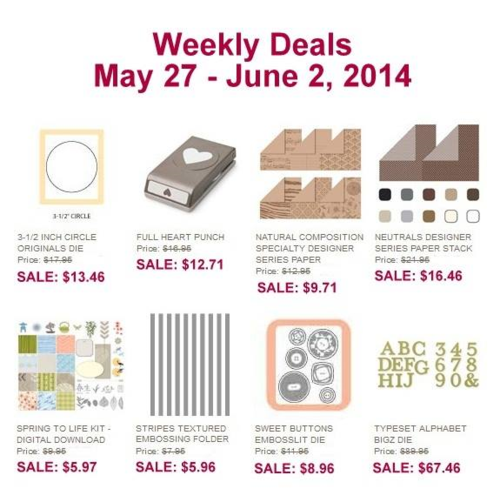 Weekly deal May 27-June 2