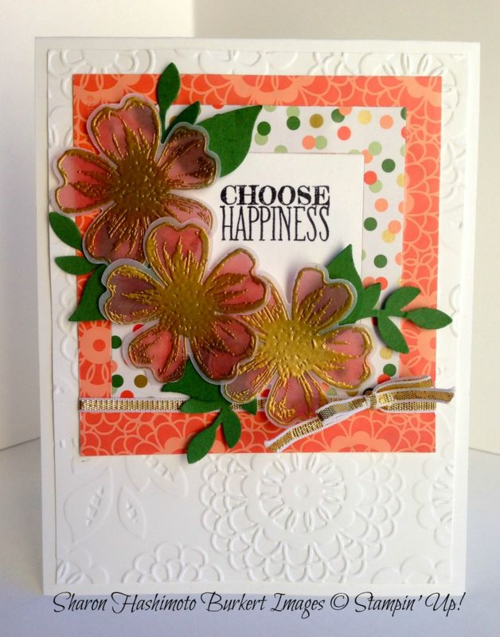 Choose Happiness and flower shop